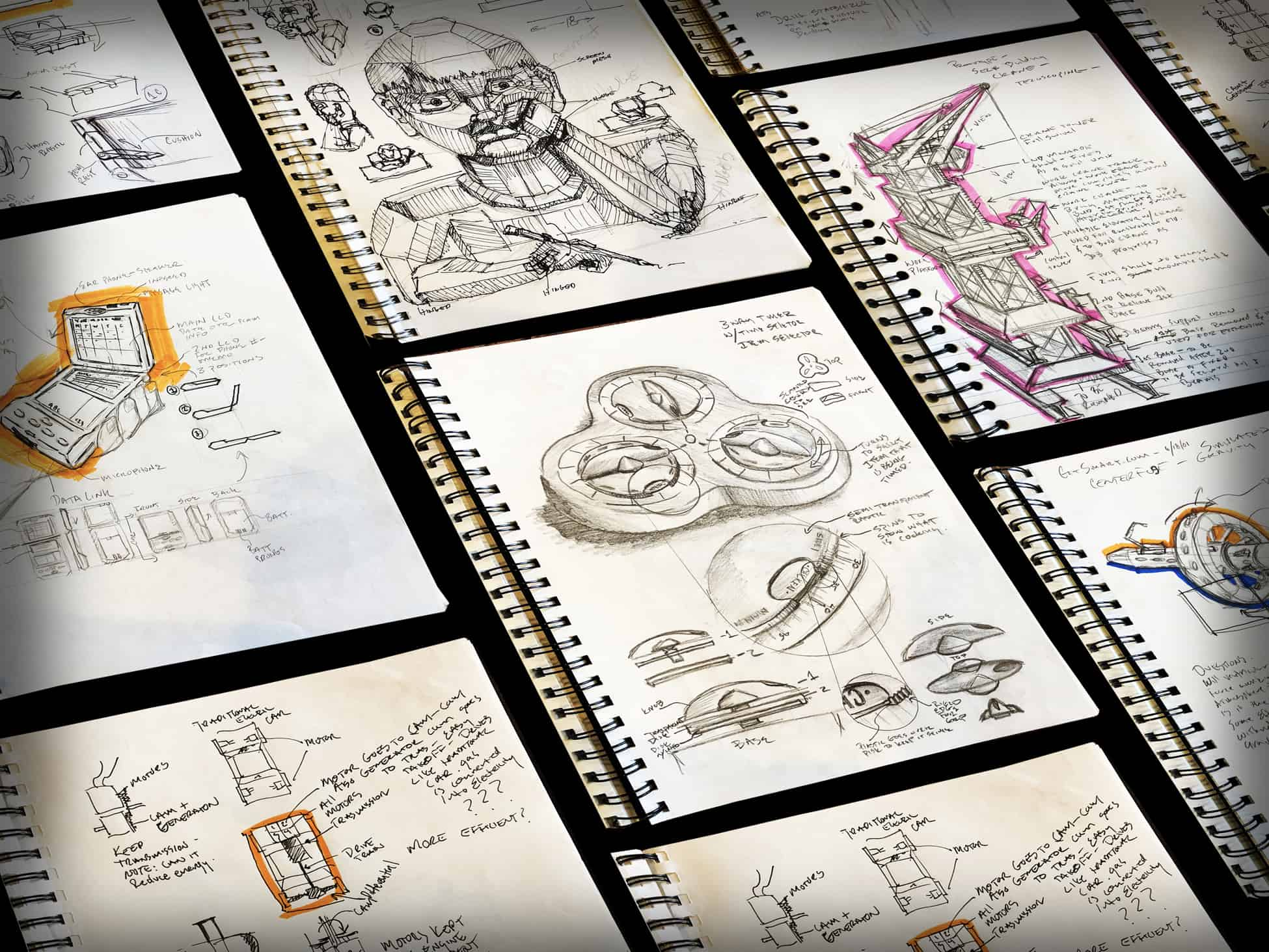 Creative Sketchbook Front Cover Ideas