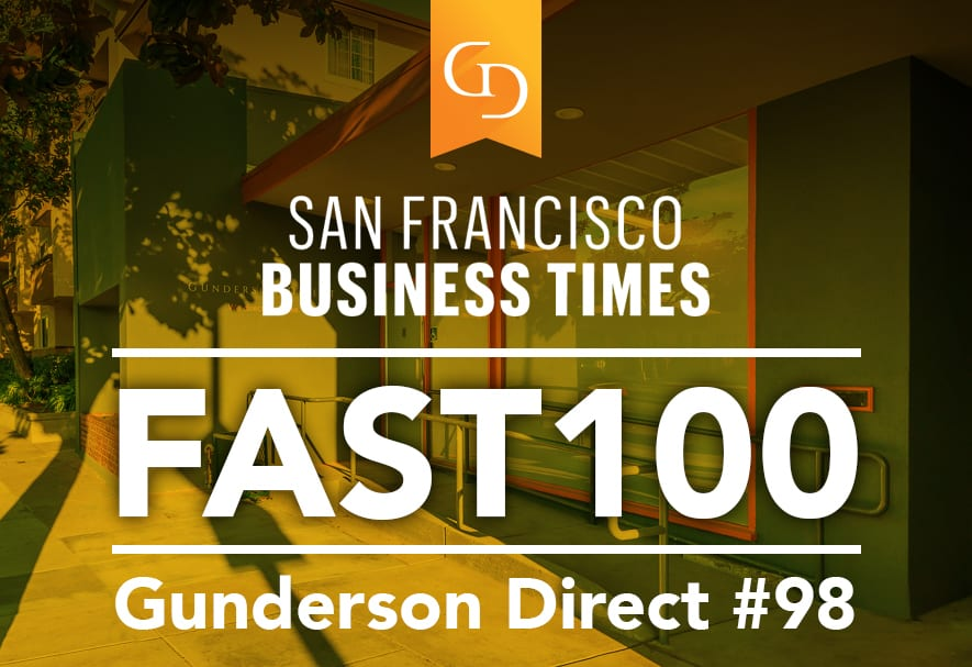 Gunderson Direct Ranked on Fast 100 List
